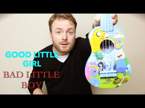 Good Little Girl/Bad Little Boy - ADVENTURE TIME UKULELE TUTORIAL!