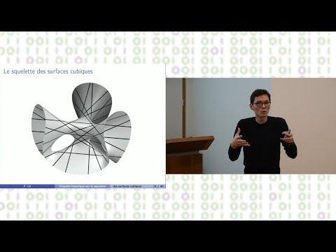 SML - Enquête historique sur le squelette des surfaces cubiques - François Lê