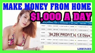 How To Make Money Online Fast - Make Money From Home 2017 $1,000 Per Day