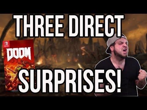 3 Biggest Nintendo Direct Surprises - Doom on Nintendo Switch?! | RGT 85
