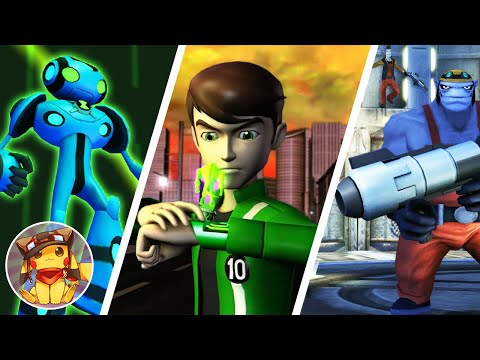 BEN 10 Ultimate Alien Cosmic Destruction - Part 6 - The Amazon - Walkthrough (2010) [1080p]