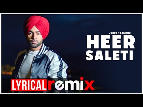 Heer Saleti (Lyrical Video)   Jordan Sandhu   Latest Punjabi Songs 2019   Speed Records