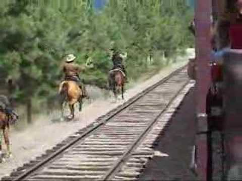 Kettle Valley Steam Train Robbery