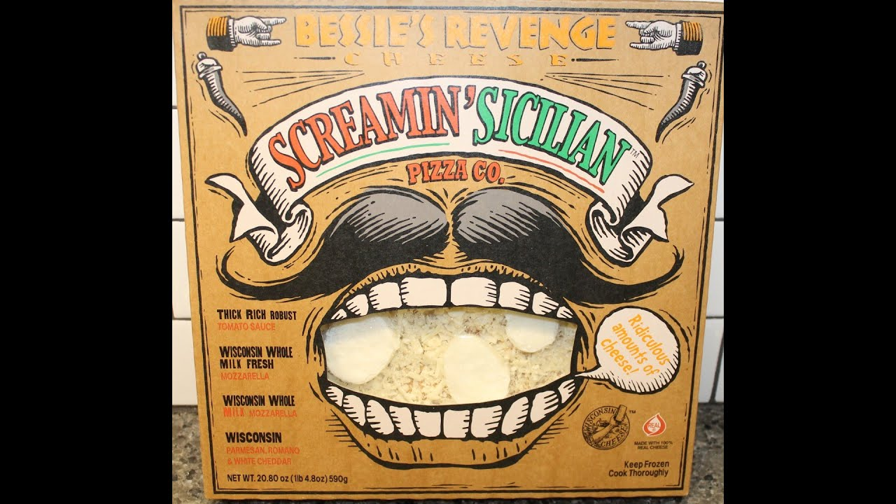 Screamin Sicilian Pizza Co Bessie S Revenge Cheese Pizza