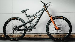 My NEW DOWNHILL BIKE! Bike Build + Test Rose Bikes Soulfire DH