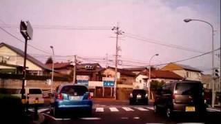 松江市内をドライブ