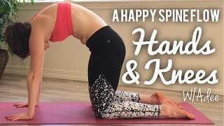 Hands & Knees Yoga for a Happy Spine