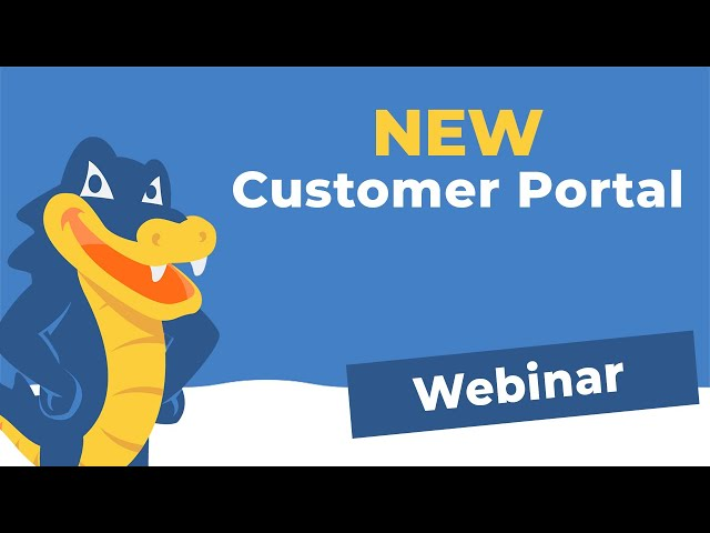 A Guide to HostGator's NEW Customer Portal 2019