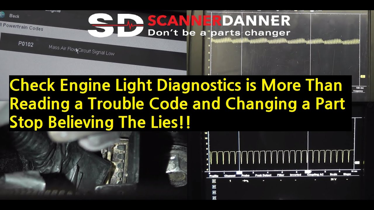 Maf Sensor Trouble Code P0102 Caused By A Bad Ground Gm 3100 2005 Cadillac Cts Fuse Diagram Youtube