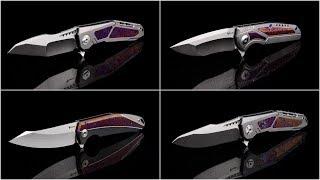 Reate Knives K-Series: K1, K3 and K4 in Mokuti
