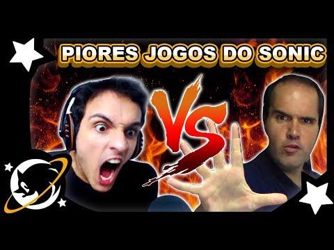 TRETA: Reagindo ao vídeo PIORES JOGOS DO SONIC | VLOG #5