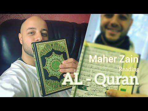 Maher Zain - Reading Quran   Maher Zain's Heart touching Quran   Maher Zain Reading Quran   AL-Quran