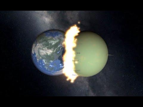 Earth Vs Venus Collision | Collision Series Episode 3 ...