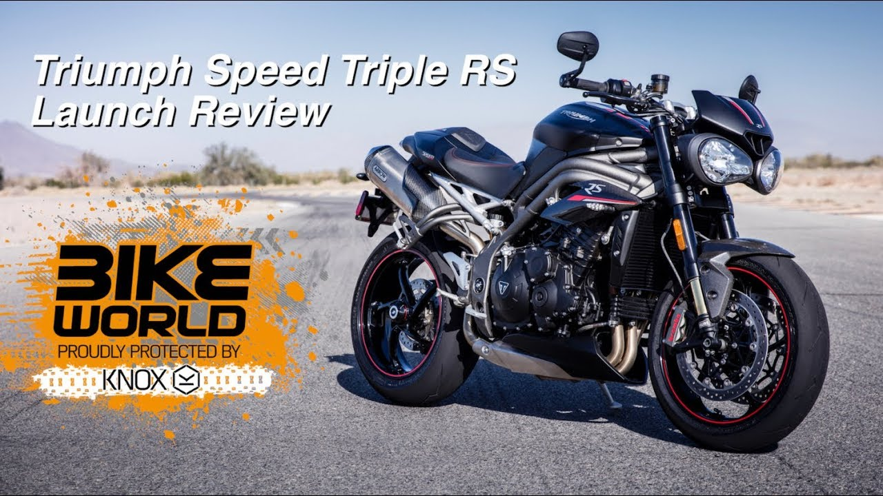 2018 triumph speed triple rs launch review bike devil sponsored youtube. Black Bedroom Furniture Sets. Home Design Ideas