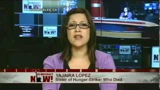 Death of Hunger-Striking Calif