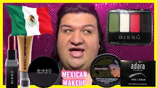 FULL FACE ONLY USING MEXICAN MAKEUP ( FAIL? ) | JOVANY ROMO