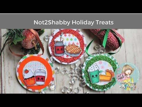 How to Make Ornament Cards with Not2Shabby Holiday Treats