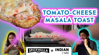 Make Tomato-Cheese Masala Toast with Meherwan Irani and Priya Krishna | Spicewalla x Indian-ish