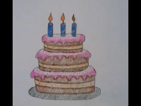 เค้ก สอนวาดรูปการ์ตูนน่ารักๆ ง่ายๆ สอนวาดรูประบายสีการ์ตูน