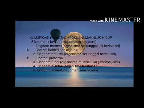 5 Kerajaan Makhluk Hidup - Puspasari