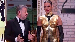 El impresionante vestido de Cristina Pedroche en las Campanadas 2019 con Alberto Chicote