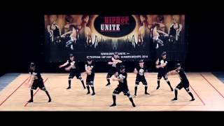 R3D ZONE - 1st Place - Fisaf Hip Hop Unite European Championship 2014 - Vienna