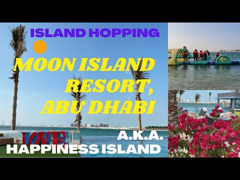Moon Island Resort, Abu Dhabi / Best Abu Dhabi Getaway / Abu Dhabi Boating Experience