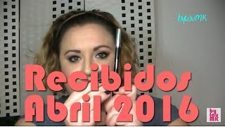 Haul Recibidos Abril 2016