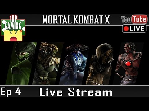 [Replay] Mortal Kombat X - 4. Mode Histoire (FaceCam) | Let's Play {Xbox One/PS4} Gameplay FR