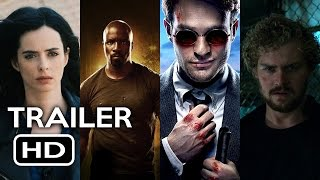 Marvel's The Defenders Official Trailer #1 (2017) Netflix TV Series HD