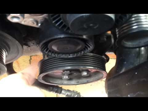 Power steering Pump pulley noise 2001 E46