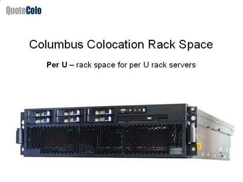 Columbus Colocation Services