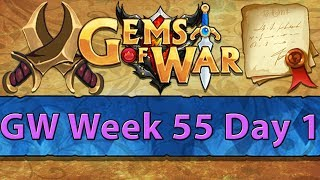 ⚔️ Gems of War Guild Wars | Week 55 Day 1 | Final Shard Grind before New Faction Friday! ⚔️