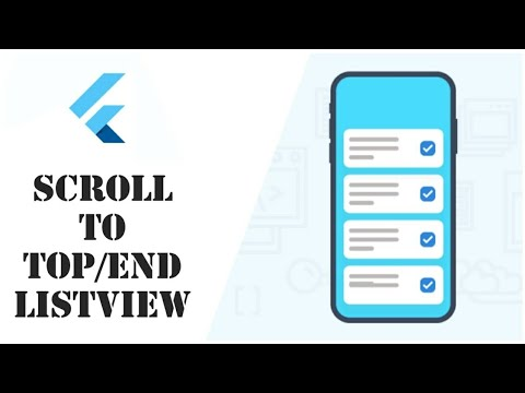 Scroll to Top and Bottom in ListView Flutter | How to Scroll using Buttons | Flutter