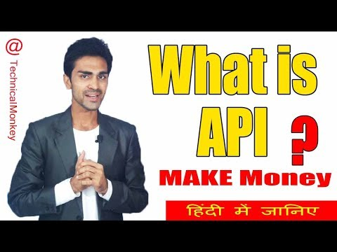 What is API ? Application Programming Interface explained in hindi | @Technicalmonkey