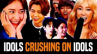 Kpop Idols Who Have Crushes On Other Idols (New Generation)