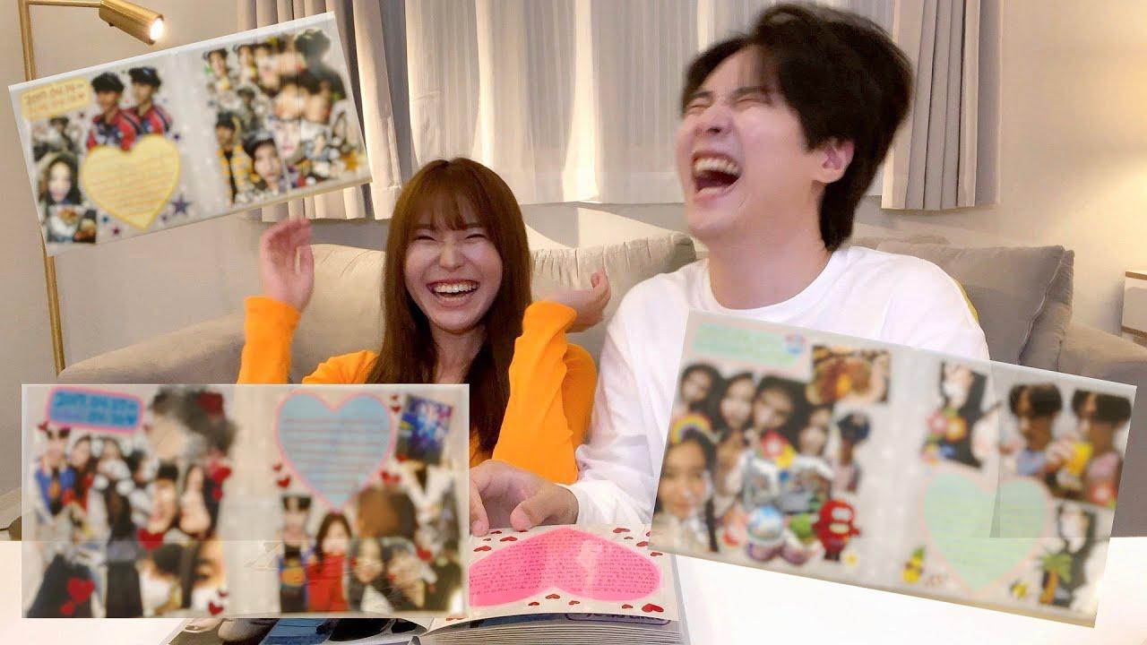 【日韓夫婦】付き合ってた頃のアルバムを見返したらヤバすぎたwwww