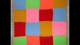Плед Цветной - 1 часть - Crochet blanket squares - вязание крючком(1 часть http://youtu.be/FJtB9IROPcE Подробный мастер-класс - как связать крючком плед из квадратов. Detailed master class - how to crochet..., 2014-06-02T18:20:13.000Z)