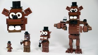 How To Build LEGO Freddy Fazbear (Five Nights at Freddy