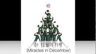 Repeat youtube video EXO - Miracles in Christmas 12월의 기적 [Full Album Korean]