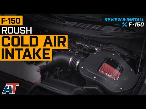 2018-2019 F-150 Roush Cold Air Intake 5.0L Review & Install