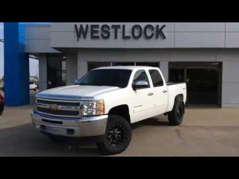 Used Summit White 2012 Chevrolet Silverado 1500 Lt For Sale In