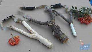 Как сделать рогатку из дерева своими руками в домашних условиях?