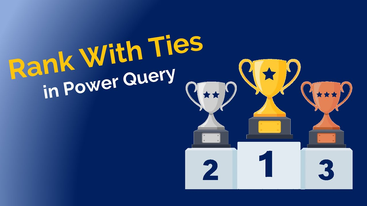 2 Ways to Rank With Ties Using Power Query - Excel Gorilla