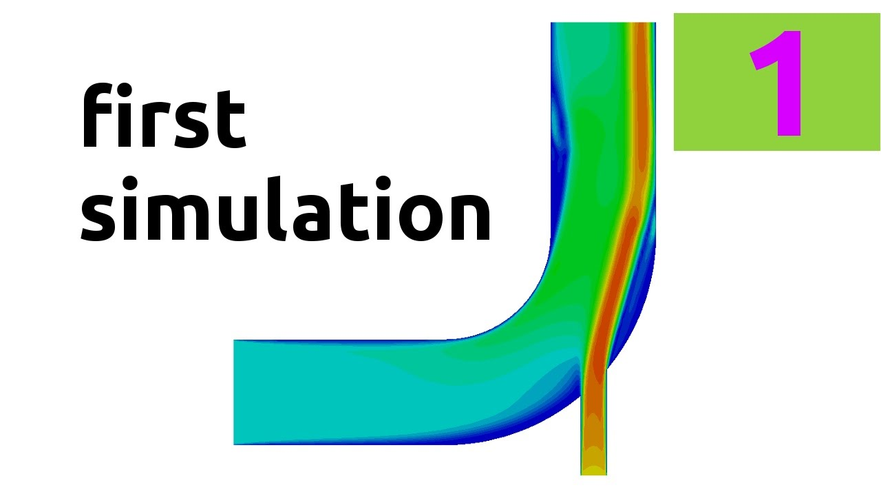 How to run your first simulation in OpenFOAM® - Part 2 - tutorial