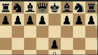 Online blitz chess game