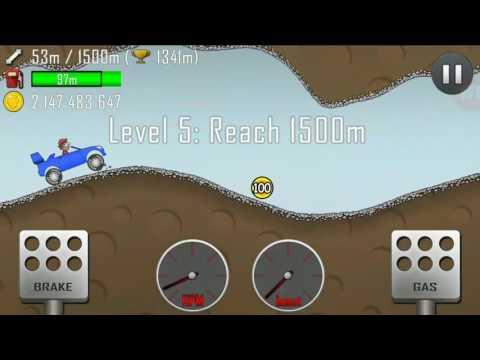 Hill climb racing взломана версія
