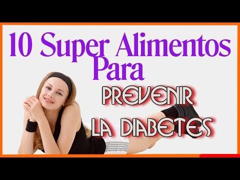 Descubre Los 10 Super Alimentos Para Prevenir la Diabetes
