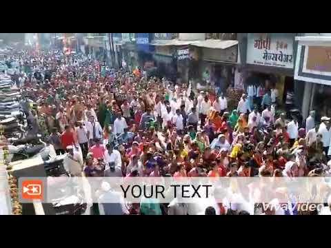 BJP rally NANDURBAR (Dekha ka Tapara)