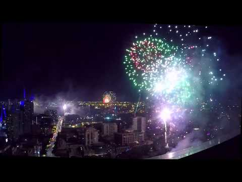 New Year FIREWORK 2019|BEST VIEW EVER|Melbourne, Australia|from HIGH APARTMENT